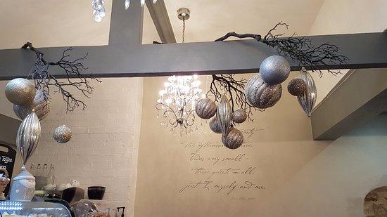 Ashby de la Zouch, UK: Festive decor