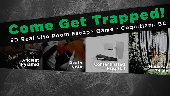 Trapped Escape Room Coquitlam