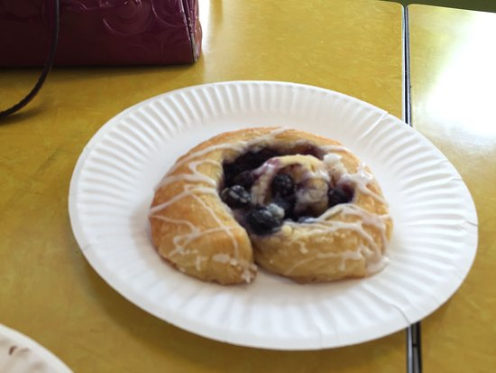 Georgetown, CO: blueberry pastry