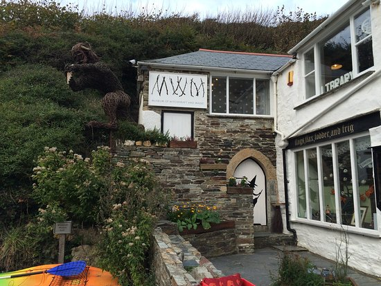 Boscastle, UK: Outside the museum
