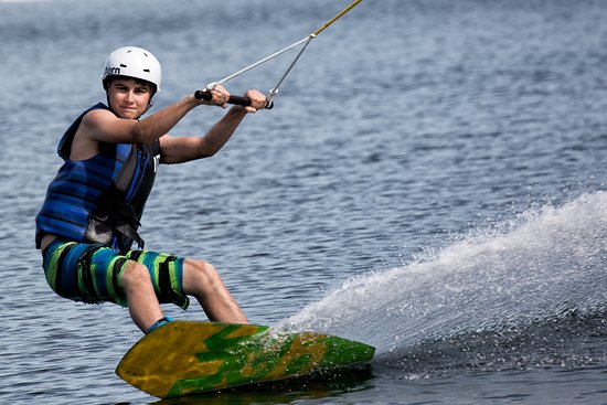 Keys Cable: first time wake boarding fun!