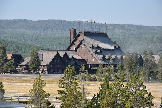 Old Faithful Inn Photo
