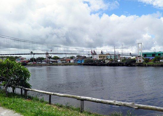 Ponte Pênsil - Passo de Torres, Santa Catarina