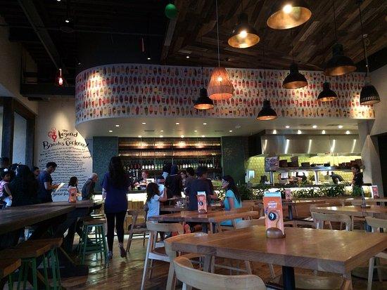 Gainesville, VA: Inside the restaurant