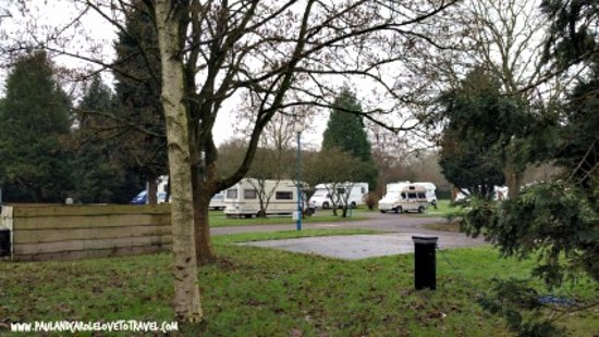 Bath Marina and Caravan Park: Site