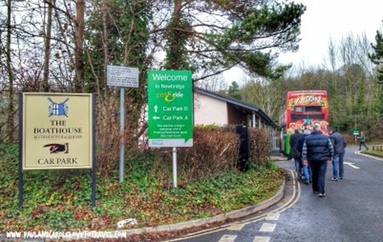 Bath Marina and Caravan Park: Park and ride
