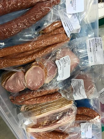 Drayton Valley, Canada: A & A Sausage out of Calmar are a weekly feature