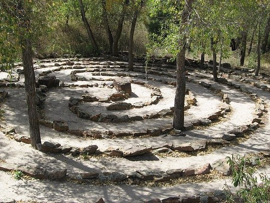 Sedalia, CO: Labyrinth at the Sanctuary Center