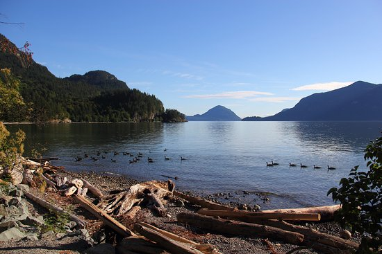 Squamish, Canada: view looking south