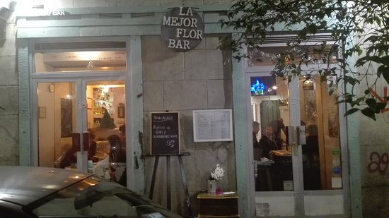 Resultado de imagen de La mejor flor bar Madrid imágenes