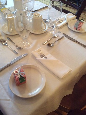 Georgetown, Canada: Special occasion individual and group dining