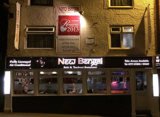 Alfreton, UK: New Bengal Balti & Tandoori Restaurant