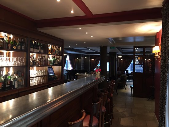 The Bar And Jazz Lounge Picture Of Hotel D Aubusson Paris Tripadvisor