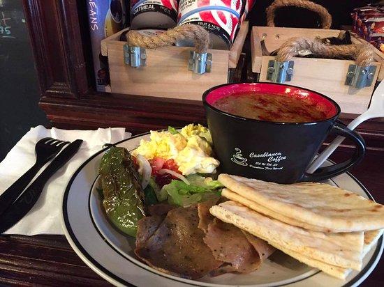 Casablanca Coffee: Special Lunch Order