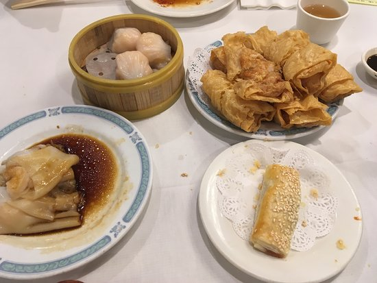Great Eastern Restaurant : Assorted dim sums