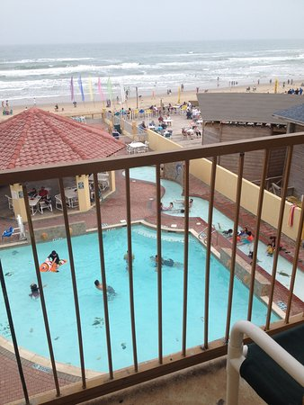 La Quinta Inn & Suites South Padre Island : This is the view from room 342 perfect!!