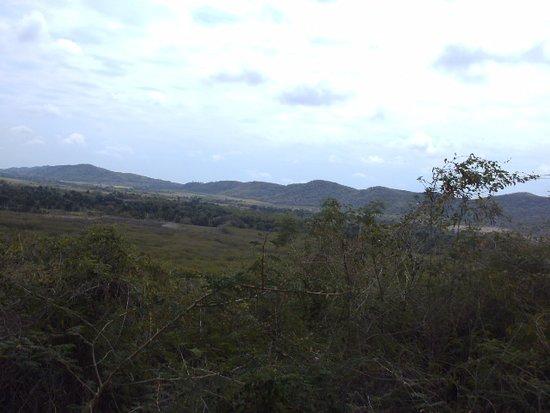 Casa Munoz Horse Trek: Aussicht von oben