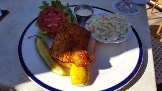 Pietro's on the Ocean: Light Fried Haddock