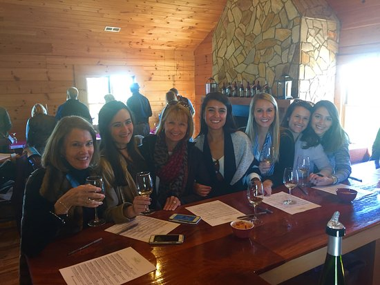 Advance, Carolina del Norte: At a winery that we could go inside