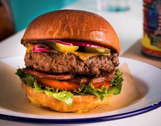 Kells, Irlandia: burger