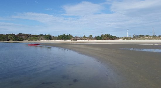 Fort Matanzas National Monument: Kayak