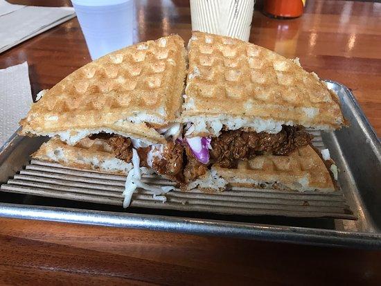 Great Original Chicken & Waffle sandwich