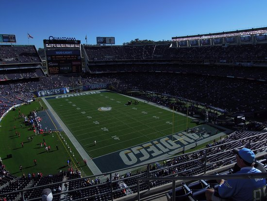 Photo of Tourist Attraction Qualcomm Stadium at 9449 Friars Road, San Diego, CA 92108, United States