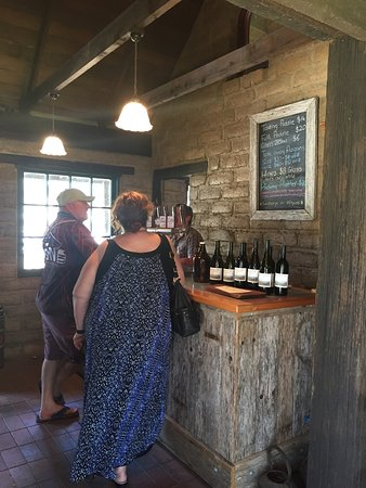 Coal Valley Cider: The cellar door was built by Josh's parents and is the perfect place to sit and relax while you