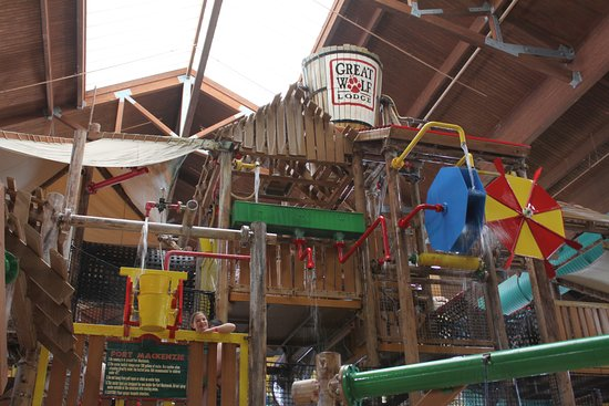 Great Wolf Lodge: Main Water Bucket