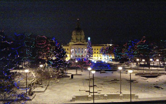 Alberta Legislature Building: The Beautiful Lights