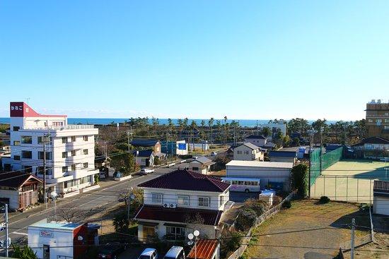 Shirako-machi, Ιαπωνία: 5F客室からの眺め