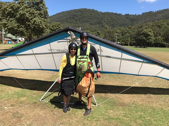 Stanwell Park, ออสเตรเลีย: Loved flying with you, thanks Mike!