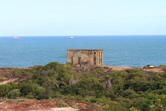 Forte Castelo do Mar ruins: Forte Castelo do Mar