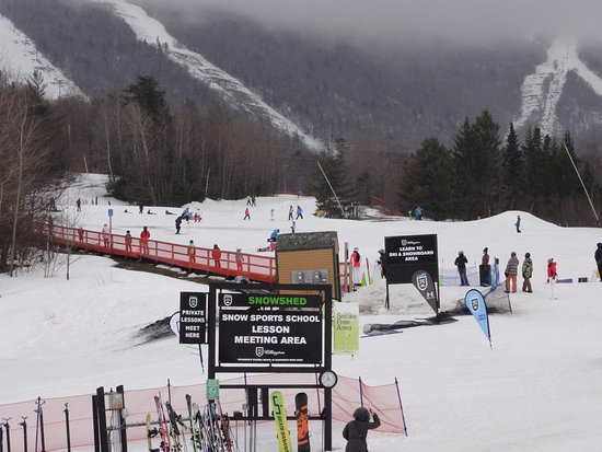 Killington, VT: learning area at Snowshed