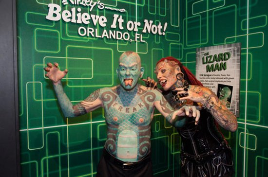 Ripley's Believe It or Not! Orlando 'Odditorium'  Admission