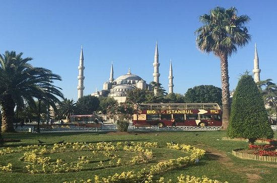 Istanbul Big Bus Hop-On Hop-Off One Day Sightseeing Tour