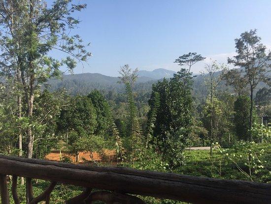 Bandarawela, Sri Lanka: Отличный вид на Ella rock и BBQ на ужин