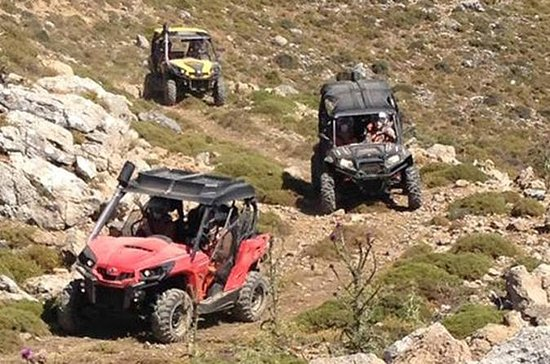 Off-Road Buggy Adventure in Crete