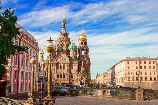Tour por la ciudad de San Petersburgo...