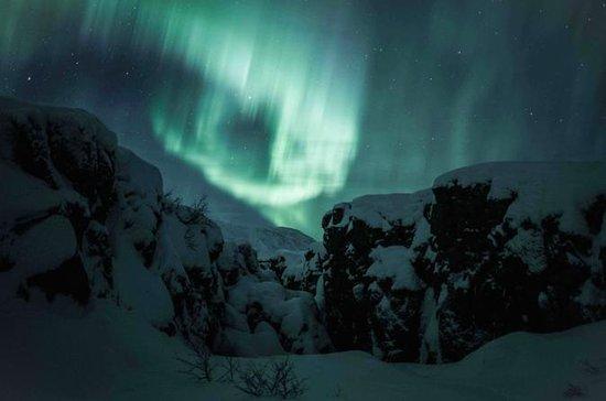 Northern Lights and Glacier...