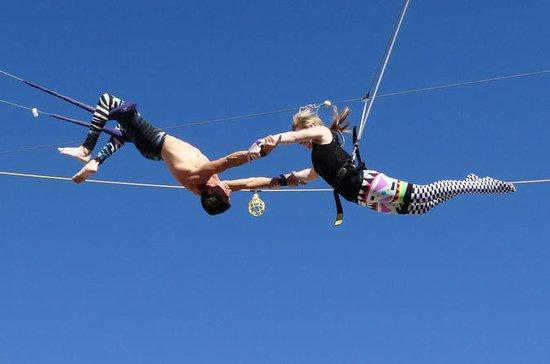 Cours de trapèze à Las Vegas