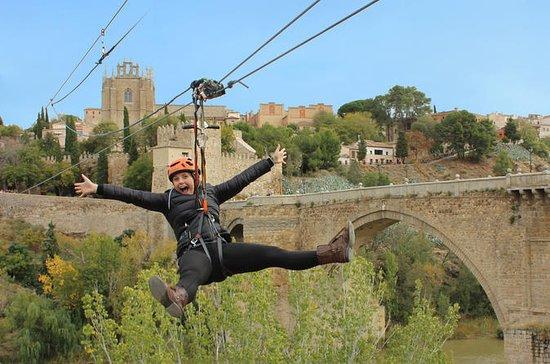 Toledo Urban Zipline with Digital Photo