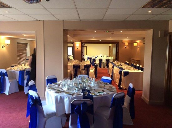 Leigh, UK: Haydock & Suite Function suite with private Bar. Ideal for Weddings & Events. Halloween Murder M