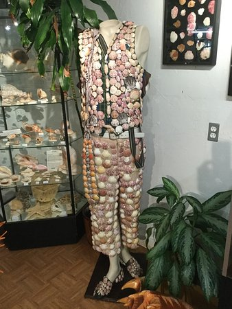 North Fort Myers, FL: Shell suit in the Shell Museum section