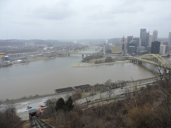 Duquesne Incline: the view from the incline