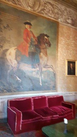 Vignanello, Italien: interno del castello. particolare.