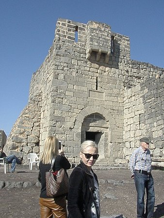 Azraq, Jordania: Castle entrance