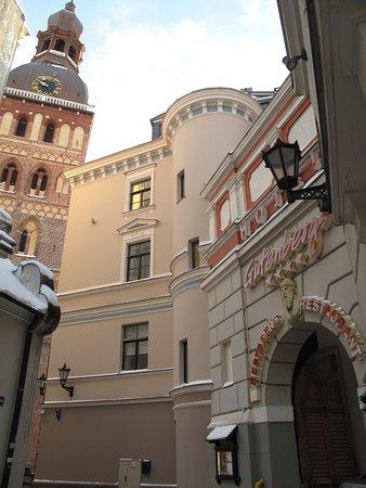 Hotel Gutenbergs: Рядом с Домским собором