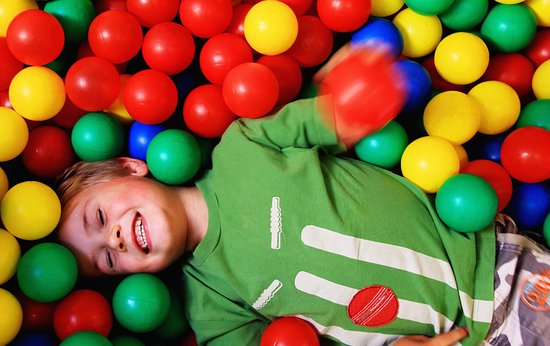 Boncath, UK: Fantastic ball pit fun in the Clydey softplay area