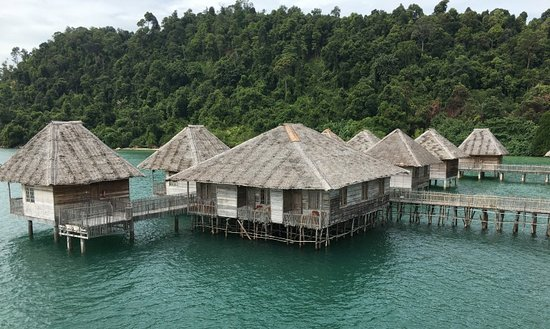 """Telunas Resorts - Telunas Beach Resort: Complete View from the """"Jumping Tower"""""""